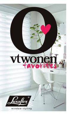 vtwonen favorites: Luxaflex indoor {Window Styling}