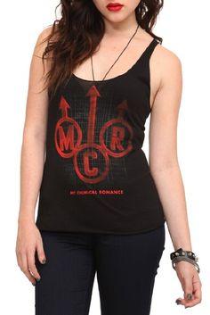 Amazon.com: My Chemical Romance Arrows Girls Tank Top: Clothing