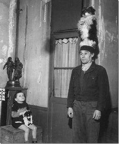 Robert Doisneau '46 Donio, Dog Trainer
