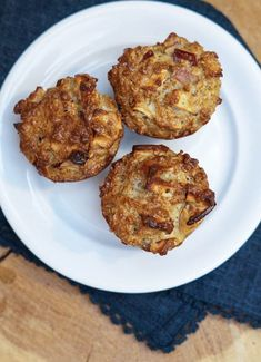 Sunde æblemuffins - perfekte til madpakken Healthy Cake, Healthy Snacks, Lchf, Gluten Free Recipes, A Food, Sweet Treats, Brunch, Vegetarian, Sweets