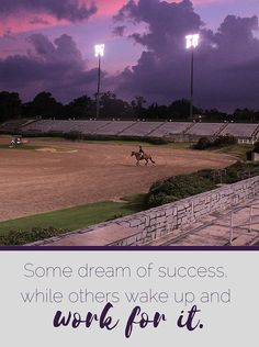 """Equestrian motivational quote 