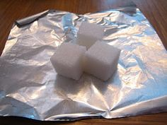 Sugar Cube Rock Cycle and more science experiments