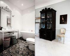 Bath room tiles