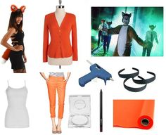 """what does the fox say?!"" costume"