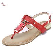 a8e2fe840566 Alexis Leroy Plage Sandales Plates Tongs Femme  Amazon.fr  Chaussures et  Sacs