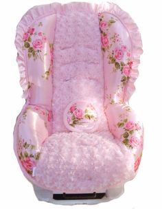 Toddler Car Seat Cover in Lola Bella, possibility for convertible car seat.
