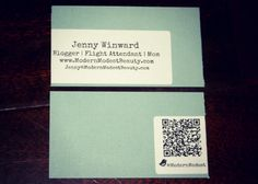 Plane Pretty | Fashion, Travel and Lifestyle Blog: DIY business cards