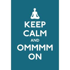 Saying OM is actually a form of meditation. It is a mantra, or vibration, that is traditionally chanted at the beginning and end of yoga sessions. Keep Calmmmm. Yoga Session, Yoga Poses, Reiki, Going Barefoot, Barefoot Books, Relaxation Meditation, Namaste Yoga, Keep Calm Posters, Mind Body Spirit