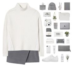 """""""Queenette"""" by nauditaolivia ❤ liked on Polyvore featuring moda, Rebecca Taylor, Vince Camuto, Pigeon & Poodle, Falke, Mulberry, Crate and Barrel, adidas, Noir ve Incase"""
