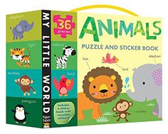 Animals Puzzle and Sticker Book Set (My Little World) by Tiger Tales http://www.amazon.co.uk/dp/1589252012/ref=cm_sw_r_pi_dp_T7Xuvb0Y0EN4J