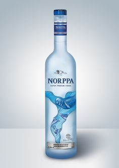 Vodka (Norppa) on Behance by Anna Bagdasaryan Yerevan, Armenia PD