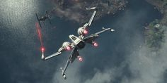 The modern incarnation of a classic design, the Incom T-70 X-wing fighter is the signature combat craft of the Resistance forces in their fight against the First Order. When missions call for it, ace Resistance pilot Poe Dameron becomes Black Leader, flying a dark-hulled T-70 X-wing starfighter into action.