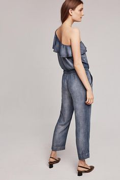 Miami One-Shoulder Jumpsuit