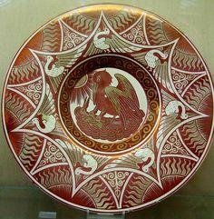 William De Morgan- plate
