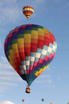Photo By Don K Robertson, on Flickr.com, our Zipper Balloon flying in Albuquerque, NM, during Fiesta 2012