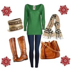 """Holiday Outfit"" by daisylovee on Polyvore"