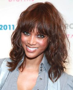 16. Tyra Banks' Tousled Curls - 20 Best Celebrity Hairstyles of 2012 ... | All Women Stalk