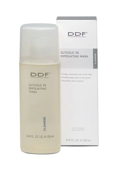 Looks like  must try: DDF, Glycolic 5% Exfoliating Wash