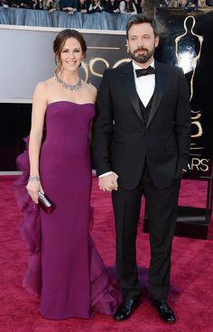 Jennifer Garner & Ben Affleck @ 2013 Oscars (Dior is on a roll here!!)