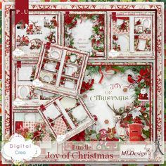 "Photo from album ""The Joy Of Christmas"" on Yandex. Christmas Clipart, Christmas Paper, Diy Christmas Ornaments, Xmas, Scrapbook Templates, Scrapbook Designs, Baby Scrapbook, Scrapbook Paper, Digital Paper Free"