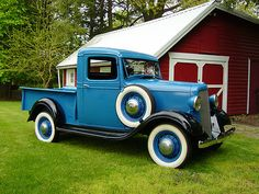 1935 Chevy 1/2 ton pick up truck