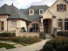 Plan 36180TX: French Country Estate With Courtyard. House Plans ...