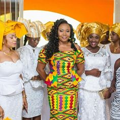 36 Hottest Kente Styles 2018 To Choose For Celebrities - Fashionuki African Inspired Clothing, African Print Fashion, African Fashion Dresses, African Attire, African Wear, African Women, African Dress, African Outfits, African Clothes