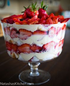 Yummy Mixed Berry Angel Food Trifle