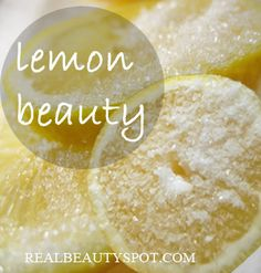 *Beauty uses of Lemon for skin and hair #beautytip