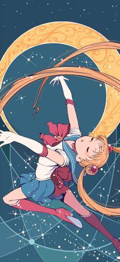#Sailor Moon transformation