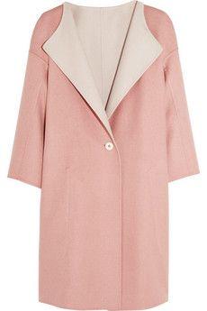 Jil Sander Oversized reversible double-faced cashmere coat | NET-A-PORTER