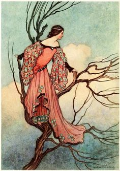 in-the-middle-of-a-daydream The Fairy Book, 1863Illustrations by Warwick Goble