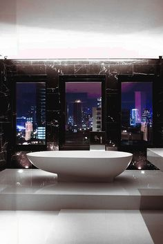 "motivationsforlife: ""Penthouse bathroom by @dbalp"""