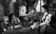 Cannon Movie Tales: Hansel and Gretel (1987). Written by Len Talan and Nancy Weems. Directed by Len Talan. Starring David Warner, Cloris Leachman, Hugh Pollard, and Nicola Stapleton.
