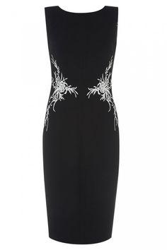 Lulu & Co Bi-Colour Dupion Dress - Little Black Dresses You'll Wear Again And Again   Mobile