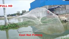 Cast Net Fishing In Khmer - Net Fishing at Pailin Province - Cambodia Tr...