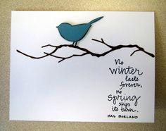 Reed Bird on Woodland Branch