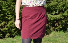 Scalloped skirt by Madame Créative | Project | Sewing / Skirts | Kollabora