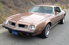 Love the front of this 75 Firebird.