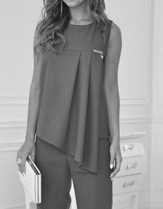 Выкройки на индивидуальные размеры by rosa Dress Sewing Patterns, Blouse Patterns, Blouse Designs, Sewing Clothes, Diy Clothes, Clothes For Women, Hijab Fashion, Fashion Dresses, Moda Chic
