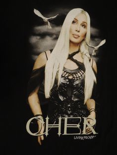 Cher: Living Proof Farewell Tour 2002 Concert Tour T-Shirt, XL