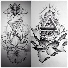 Lotus / Penrose Triangle vs. Adam Jelinski @anatomytattoo