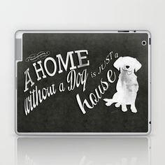 Home with Dog Laptop & iPad Skin by Roboz - $25.00