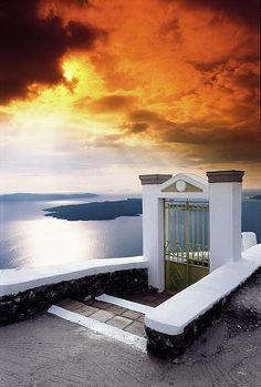 The Gate, Santorini, Greece