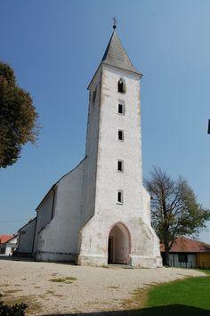 St Martin's Church - Mártonhely, Hungary