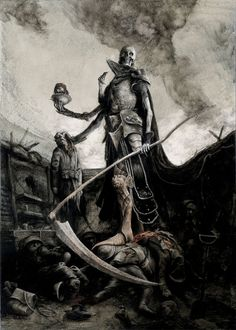 Santiago Caruso: The Reaper of the Somme