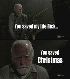 "When you realised who Hershel reminded you of. | 31 Things Only ""The Walking Dead"" Fans Will Understand"
