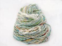 90 Yards Single Ply Yarn by bonfiber on Etsy, $10.50