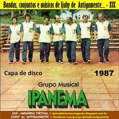 IJUÍ - RS - Memória Virtual: Banda Musical Ipanema de Ijuí... Gravou seu primei...