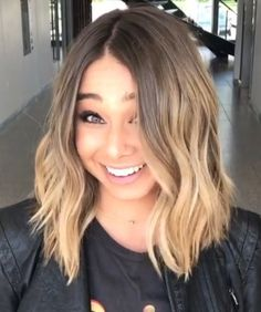Ash brunette lob